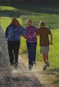 Carefree by Ellen Lindner, Best Pictorial Quilt – 2015 Florida Quilt Competition