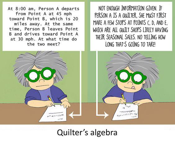 QuiltersAlgebra
