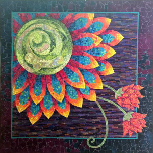 """Best of Country 2017: South Africa """"The Blooming Mosaic"""" by The Village Quilters Guild"""