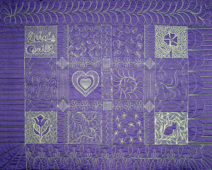 Erin Underwood Free Motion Machine Quilting, WS #018 Saturday, August 18 9 AM – 4 PM